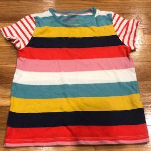Mini Boden girls shirt 3/4 year